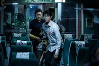 """<p>South Korea has contributed some bonkers horror flicks to the canon this millennium, and <em>Train to Busan</em> might be the apotheosis. The premise: A bunch of normal folks board the titular choo-choo, among them an infected woman. Faster than you can say, """"Casey Jones,"""" there's a ghoul outbreak in the chillingly close confines of the passenger cars as they race down the tracks. Let's just say zombies on a train are way more awesome, and freakout-inducing, than snakes on a plane. (Available on Netflix.) — <em>M.E. </em>(Photo: Well Go USA Entertainment/courtesy Everett Collection) </p>"""
