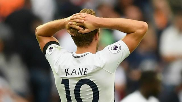 The Tottenham striker has collected back-to-back Premier League Golden Boots, but his struggles in the first month of the season continue