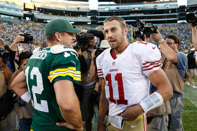 92a071425fb Aaron Rodgers sympathizes with Alex Smith s plight in San Francisco