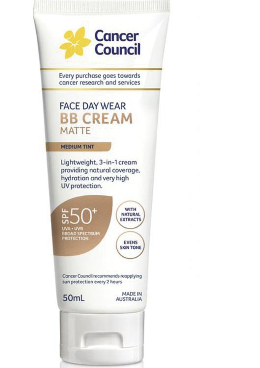 The Cancer Council BB Cream Matte, is $15 for 50ml