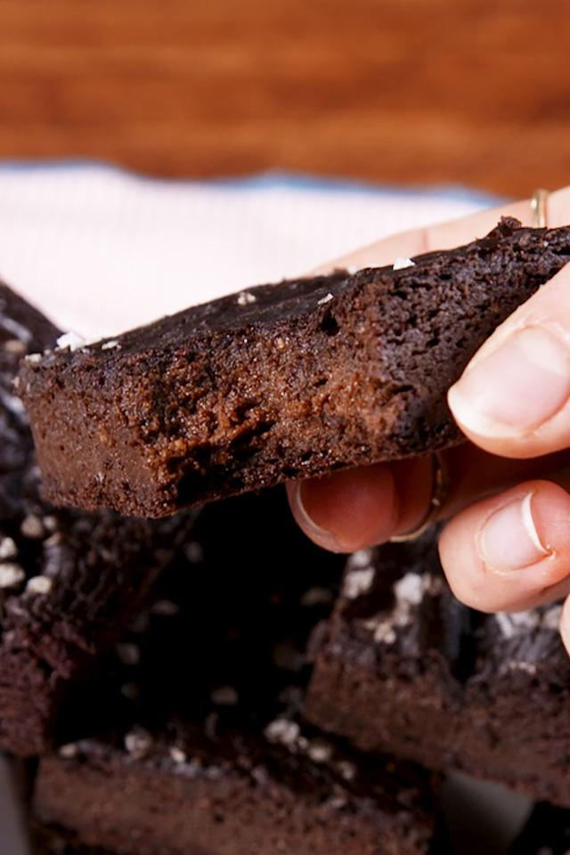 """<p>Who says you can't eat brownies when you're on the keto diet?! These keto brownies are the best.</p><p>Get the <a href=""""https://www.delish.com/uk/cooking/recipes/a29124409/keto-brownies-recipe/"""" target=""""_blank"""">Keto Brownies</a> recipe. </p>"""