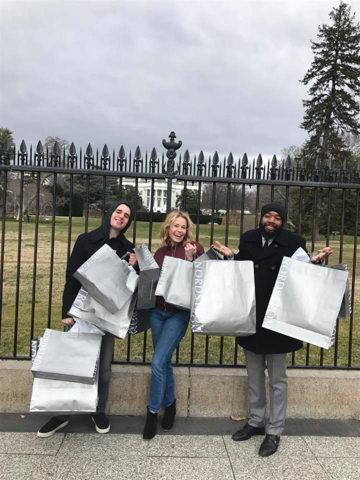 "<p>The funny lady — who isn't exactly a Trump fan — couldn't resist trolling the president in front of the White House with a couple of friends after a shopping spree. ""A Jew and a Gay went to pick a Muslim up from the airport, headed straight to Nordstrom, and then headed over to @whitehouse to give our thanks!"" she cracked. (Photo: <a rel=""nofollow"" href=""https://www.instagram.com/p/BQTIBExB-BG/"">Instagram</a>) </p>"