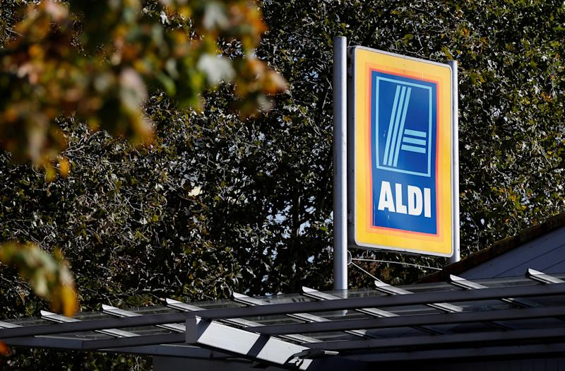 An Aldi superstore is seen in London, Britain, September 29, 2018. Picture taken September 29, 2018. REUTERS/Peter Nicholls