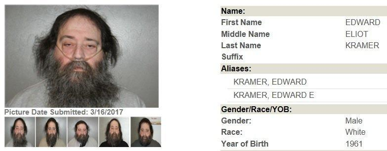 Edward Kramer's profile on the Georgia Bureau of Investigation Sex Offender registry. (Georgia Bureau of Investigation)