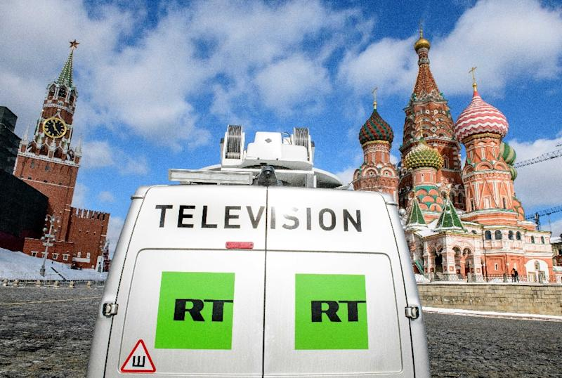 Ofcom launch SEVEN new probes into Russian TV channel RT