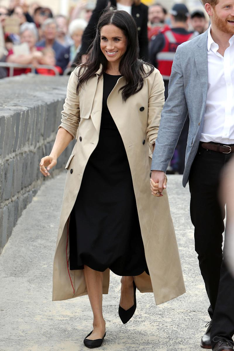 5a65dff31235 This Meghan Markle-Loved Shoe Brand Just Launched at Nordstrom