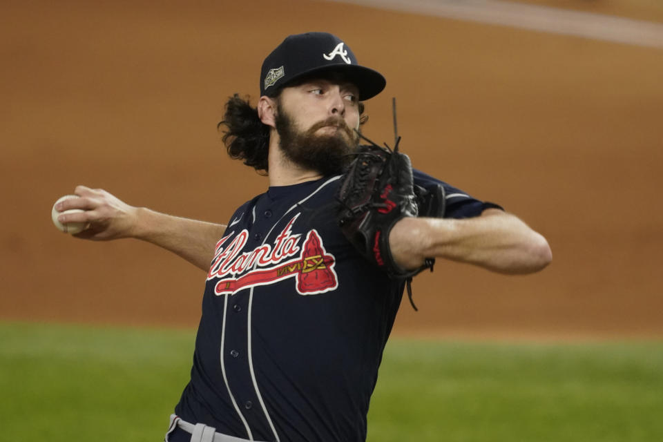 Atlanta Braves starting pitcher Ian Anderson.
