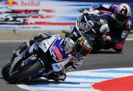 Jorge Lorenzo on Saturday earned his third pole of the season