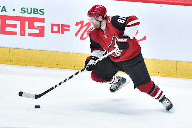 FILE PHOTO: NHL: Minnesota Wild at Arizona Coyotes