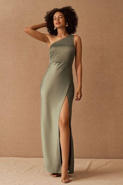 """<p>bhldn.com</p><p><strong>$220.00</strong></p><p><a href=""""https://go.redirectingat.com?id=74968X1596630&url=https%3A%2F%2Fwww.bhldn.com%2Fproducts%2Fdylan-satin-charmeuse-maxi-dress-moss%3Fvia%3DZ2lkOi8vdXJibi9Xb3JrYXJlYTo6Q2F0YWxvZzo6Q2F0ZWdvcnkvNTYxQTlBNTU&sref=https%3A%2F%2Fwww.womenshealthmag.com%2Flife%2Fg36173394%2Fsummer-wedding-guest-dresses%2F"""" rel=""""nofollow noopener"""" target=""""_blank"""" data-ylk=""""slk:Shop Now"""" class=""""link rapid-noclick-resp"""">Shop Now</a></p><p>This satin maxi dress comes in moss, cinnamon, and champagne! Whatever color scheme you're feeling, you'll have something to wear to your next black tie wedding. </p>"""