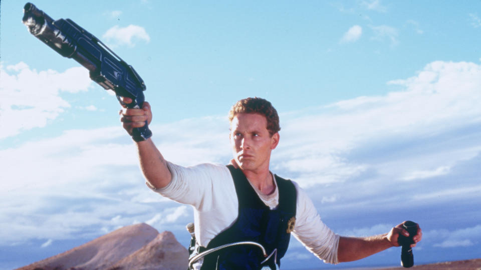 Cole Hauser as William J. Johns in 'Pitch Black'. (Credit: Arrow Video)