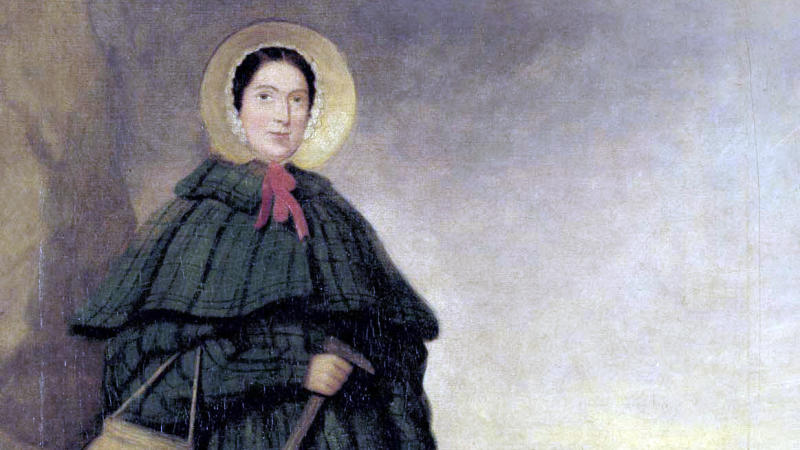 Mary Anning, painted before 1842. (Credit: Wikipedia/Creative Commons)