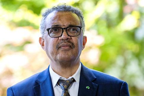 Tedros Adhanom Ghebreyesus, director general of the World Health Organisation, says the global coronavirus pandemic is far from over. Photo: AP