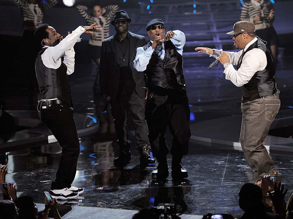 "Despite all the divas, there were still plenty of fellas in the house -- like Boyz II Men who performed ""Motown Philly""<span style=""font-weight:bold;""></span><strong></strong> for the crowd. (11/18/2011)"
