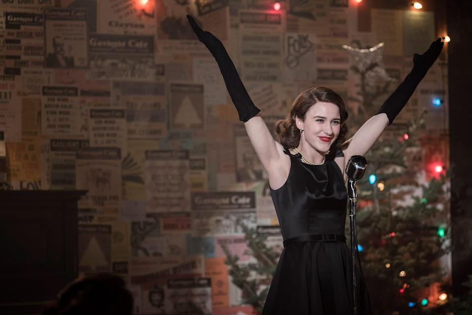 Mrs. Maisel lives on Manhattan's Upper West Side while her pursuit of a career in comedy takes her to iconic clubs in the West Village, such as the Gaslight and Village Vanguard.