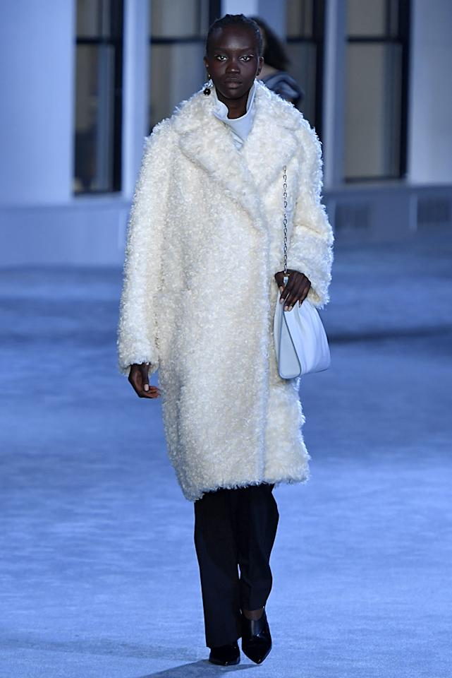 """Ahead of its fall 2019 show in February 2019, 3.1 Phillip Lim shared that the brand would be going fur-free. """"Balance is key—recognizing that we will always have a footprint but offsetting it with small gestures that eventually amount to a grand shift,"""" the designer wrote in a statement, issued to <a href=""""https://nylon.com/phillip-lim-fur-free""""><em>Nylon</em></a>. """"The decision to ban fur—from an ethical and environmental perspective—speaks to our commitment to remain true to this ethos and listen to our customers: environmentally conscious, global citizens who shop with their values top of mind."""""""