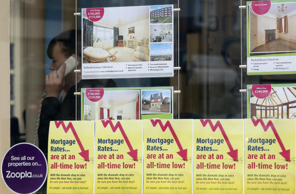 Mortgages rates have been at record lows. Getty Images