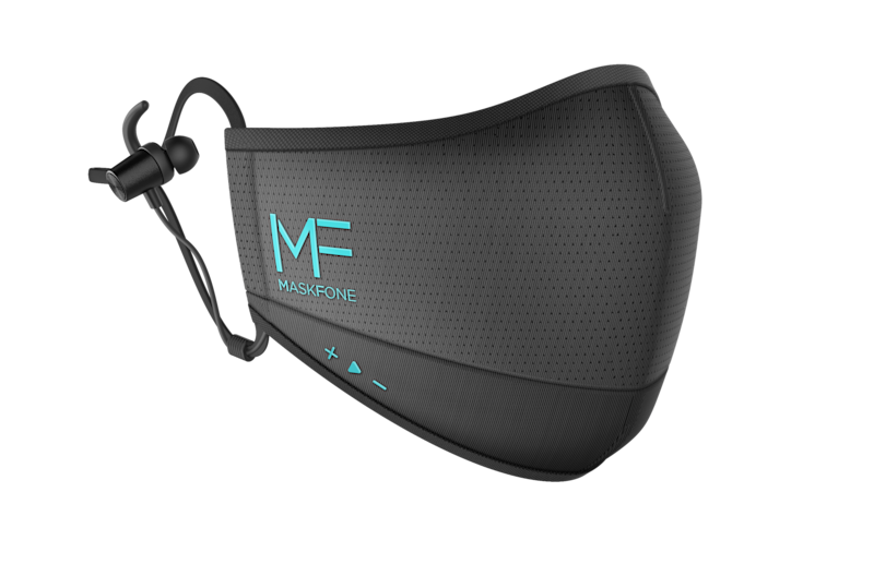 MaskFone Bluetooth face mask.