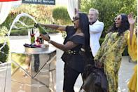 """<p>On vacations, former <em>Real Housewives of New York </em>star <a href=""""https://realityblurb.com/2018/06/17/report-bravos-real-housewives-producers-keep-their-stars-liquored-up-during-filming-former-housewives-speak-out/"""" rel=""""nofollow noopener"""" target=""""_blank"""" data-ylk=""""slk:Heather Thomson noted"""" class=""""link rapid-noclick-resp"""">Heather Thomson noted</a> that it's all free-flowing: """"You request the kind of alcohol you want and it's there when you arrive to your villa and if you run out, they get you more."""" </p>"""