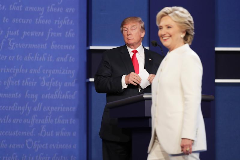 Trump's performance against Clinton in 2016 shows why Biden supporters are righ to be waryGetty Images