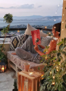 """<p>If you're working with a small space like an apartment balcony, consider lighting it up with fairy star lights. </p><p><strong>See more at <a href=""""https://www.instagram.com/p/B3Cmh2_hLgK/"""" rel=""""nofollow noopener"""" target=""""_blank"""" data-ylk=""""slk:tarzmeselesi"""" class=""""link rapid-noclick-resp"""">tarzmeselesi</a>. </strong></p><p><a class=""""link rapid-noclick-resp"""" href=""""https://www.amazon.com/Twinkle-Star-Powered-Christmas-Decoration/dp/B07GMQ42GG/?tag=syn-yahoo-20&ascsubtag=%5Bartid%7C10050.g.31137877%5Bsrc%7Cyahoo-us"""" rel=""""nofollow noopener"""" target=""""_blank"""" data-ylk=""""slk:SHOP STAR FAIRY LIGHTS""""><strong>SHOP STAR FAIRY LIGHTS</strong></a></p>"""