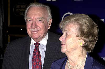 "Premiere: <a href=""/movie/contributor/1800164006"">Walter Cronkite</a> and wife at the New York premiere of <a href=""/movie/1804749968/info"">Serendipity</a> - 10/3/2001<br><font size=""-1"">Photo: <a href=""http://www.wireimage.com"">Theo Wargo/Wireimage.com</a></font>"