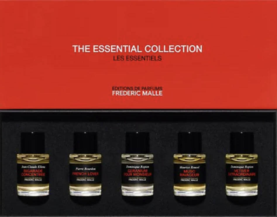 best fathers day gifts, pour homme, mens cologne, Essential Collection Perfumes Pour Homme 5-Piece Set, federick malle