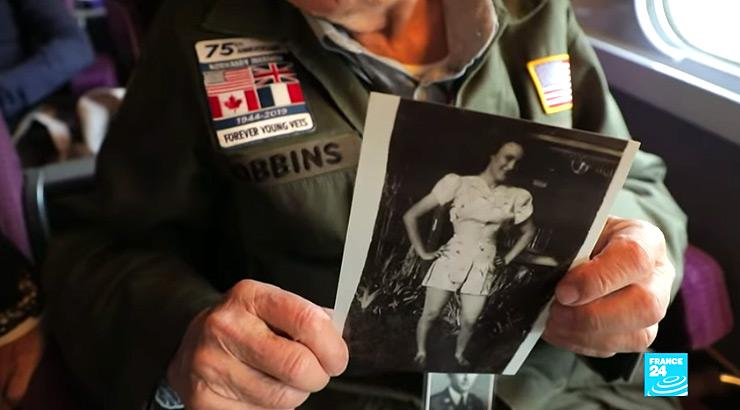 WWII veteran reconciles with long lost love after 75 years