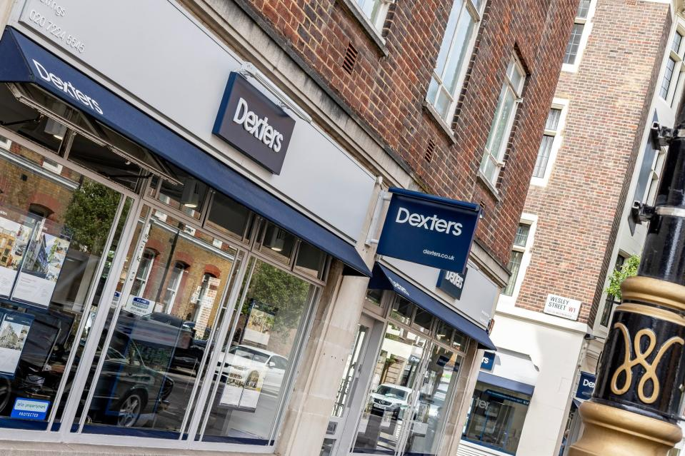 Central London property lettings have seen a huge increase in demand compared to January of last year. Photo: Dexters.