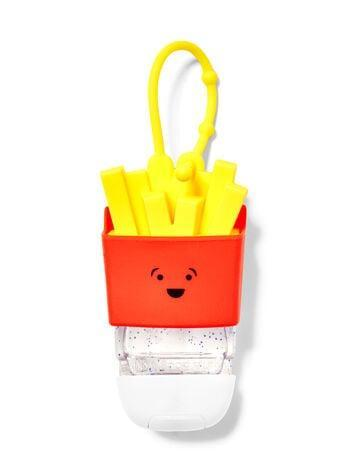 <p>If we must fight germs all winter, let's at least make it cheeky and fun. The <span>Bath &amp; Body Works French Fries PocketBac Holder</span> ($4) does just that.</p>