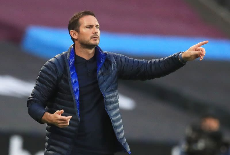 Chelsea must get used to pressure in home stretch, says Lampard
