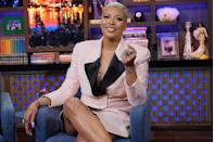 """<p>After three action-packed seasons, relative newcomer to <em>Atlanta</em> Eva Marcille (and former winner of <em>America's Next Top Model</em>, cycle 3) announced on the <a href=""""https://www.youtube.com/channel/UCCIWDT7Z_BY8vCeYbYAO2OA"""" rel=""""nofollow noopener"""" target=""""_blank"""" data-ylk=""""slk:Rickey Smiley Morning Show"""" class=""""link rapid-noclick-resp""""><em>Rickey Smiley Morning Show</em></a> that she was handing in her peach ahead of season 13. Despite a sizable fan base from her time on <em>Top Model,</em> Eva received negative feedback from viewers who felt that she didn't have an interesting storyline. Her eventual feud with NeNe Leakes in season 12 only made matters worse. """"I am thankful for the opportunity I was provided, however, after speaking with my family and representatives, I believe that what I hope to accomplish for the culture and community will be better served by focusing on other opportunities,"""" Eva said in a statement.</p>"""