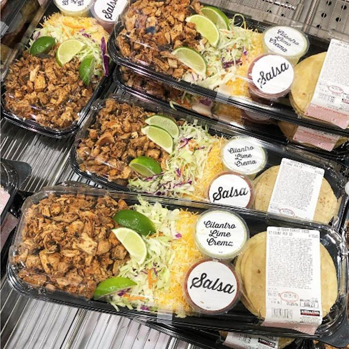 """<p>Meal prepping has never been easier than with this pack. Truly, every day will be Taco Tuesday thanks to these! Find out about all the goodies inside this <a href=""""https://www.bestproducts.com/lifestyle/a26026643/costco-kirkland-chicken-street-tacos-kit/"""" rel=""""nofollow noopener"""" target=""""_blank"""" data-ylk=""""slk:12-pack Street Taco Kit"""" class=""""link rapid-noclick-resp"""">12-pack Street Taco Kit</a> here. </p>"""