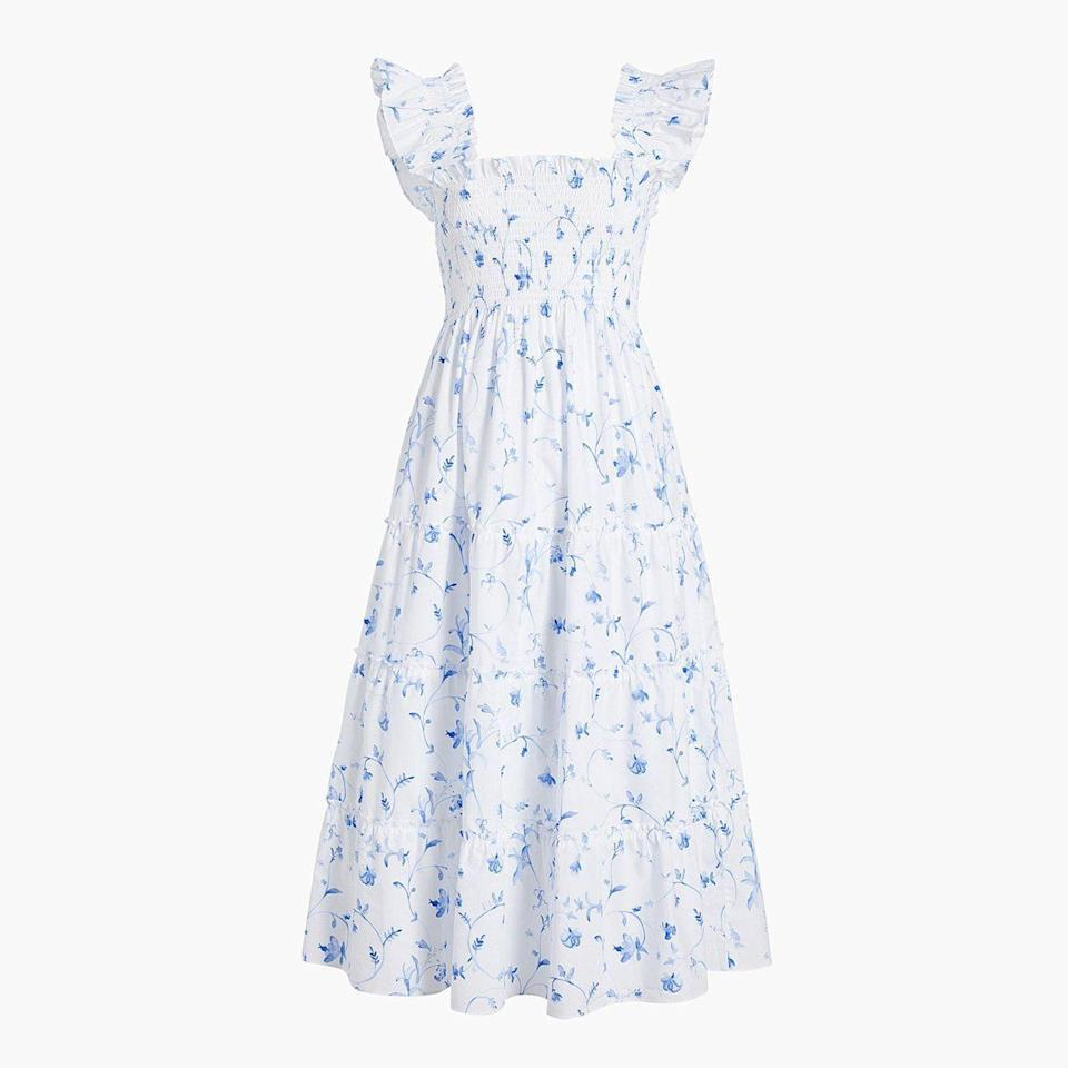 "<p>hillhousehome.com</p><p><strong>$125.00</strong></p><p><a href=""https://www.hillhousehome.com/products/the-ellie-nap-dress-botanicals?variant=31958767665195"" rel=""nofollow noopener"" target=""_blank"" data-ylk=""slk:Shop Now"" class=""link rapid-noclick-resp"">Shop Now</a></p>"