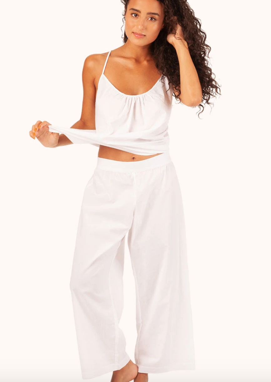 "<br> <br> <strong>Lively</strong> The Lounge Pant, $, available at <a href=""https://go.skimresources.com/?id=30283X879131&url=https%3A%2F%2Fwww.wearlively.com%2Fcollections%2Flounge%2Fproducts%2Fthe-lounge-pant-white"" rel=""nofollow noopener"" target=""_blank"" data-ylk=""slk:Lively"" class=""link rapid-noclick-resp"">Lively</a> <br> <br> <strong>Lively</strong> The Lounge Cami, $, available at <a href=""https://go.skimresources.com/?id=30283X879131&url=https%3A%2F%2Fwww.wearlively.com%2Fcollections%2Flounge%2Fproducts%2Fthe-lounge-cami-white"" rel=""nofollow noopener"" target=""_blank"" data-ylk=""slk:Lively"" class=""link rapid-noclick-resp"">Lively</a>"