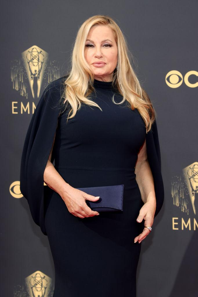 Jennifer Coolidge attends the 73rd Primetime Emmy Awards on Sept. 19 at L.A. LIVE in Los Angeles. (Photo: Rich Fury/Getty Images)