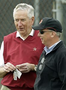 Owner Drayton McLane and GM Ed Wade are maintaining curb appeal while the Astros are for sale