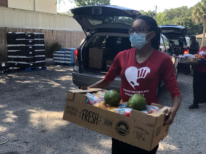 Second Harvest gathers food to donate to families in need. (Second Harvest of Central Florida)