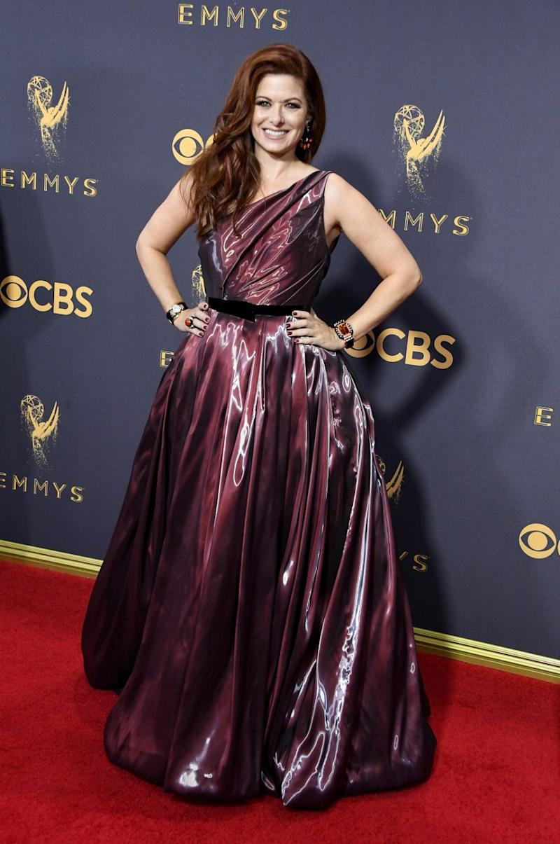 As did Will and Grace's Debra Messing. Photo: Getty