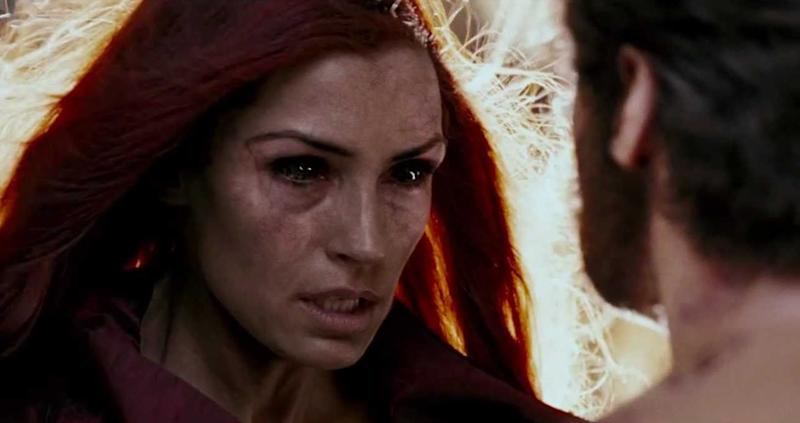 Famke Janssen's Jean Grey goes Dark Phoenix in 'X-Men: The Last Stand' (credit: 20th Century Fox)