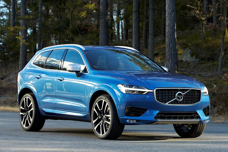 A picture of the Volvo XC60 in 2018. Millions of Volvos including this model are being recalled over fears over the engine melting. Models include the V40, V60, V70, S80, XC60 and XC90.
