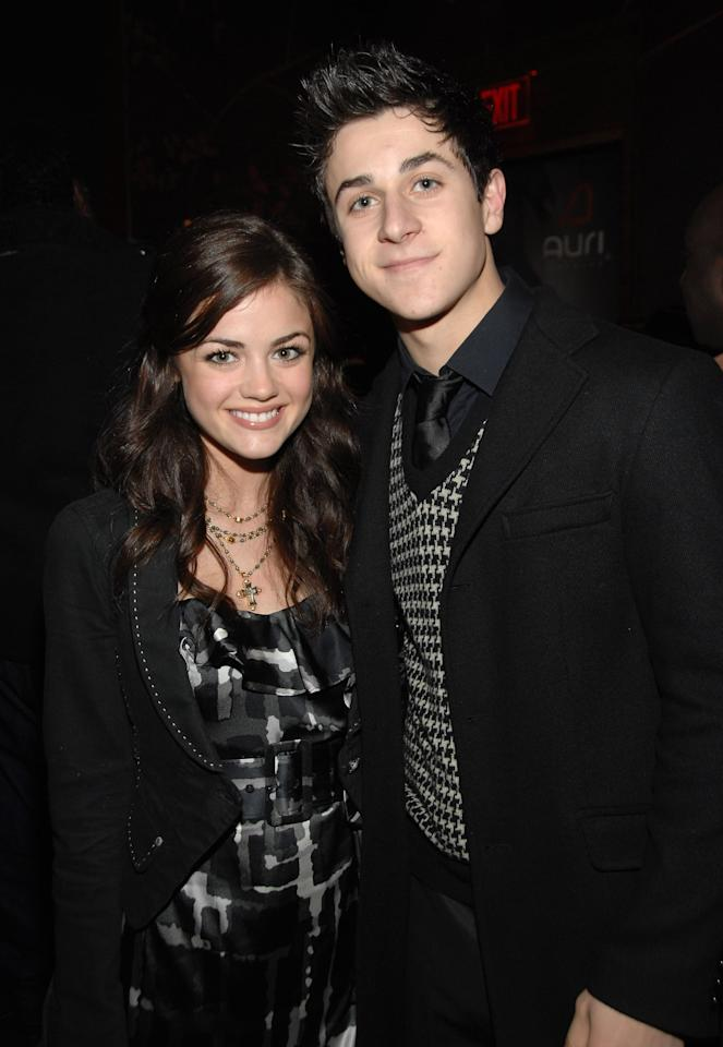 "<p>Though David Henrie was once <a href=""https://www.popsugar.com/celebrity/Selena-Gomez-Relationship-History-38858804"" target=""_blank"" class=""ga-track"" data-ga-category=""Related"" data-ga-label=""http://www.popsugar.com/celebrity/Selena-Gomez-Relationship-History-38858804"" data-ga-action=""In-Line Links"">rumored to be romancing his on-screen sister Selena Gomez</a>, the <strong>Wizards of Waverly Place </strong>actor was actually dating Lucy, who guest-starred on the series in 2007 as David's love interest, Miranda. The pair dated for over two years, but when asked by <strong>J-14</strong> back in 2014 if he would ever get back together with Lucy, David suggested that <a href=""http://www.j-14.com/posts/find-out-why-lucy-hale-s-ex-david-henrie-is-always-thinking-about-her-38946/"" target=""_blank"" class=""ga-track"" data-ga-category=""Related"" data-ga-label=""http://www.j-14.com/posts/find-out-why-lucy-hale-s-ex-david-henrie-is-always-thinking-about-her-38946/"" data-ga-action=""In-Line Links"">their relationship was purely platonic</a> after their breakup. ""No, we're friends. We're just buddies now,"" he said, so it seems as though they ended on good terms. </p>"