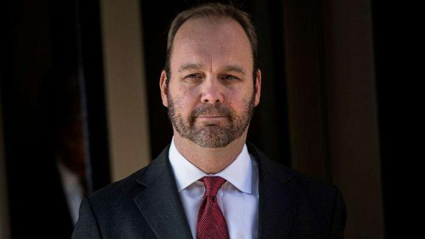 PHOTO: Former Trump campaign official Rick Gates leaves Federal Court in Washington, D.C., Dec. 11, 2017. (AFP via Getty Images, FILE)