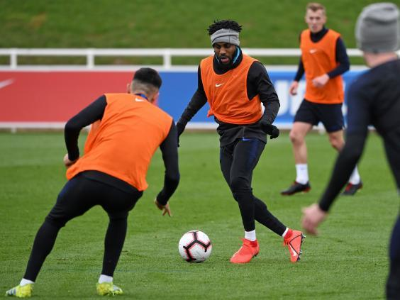 England vs Czech Republic: Danny Rose sympathises with Declan Rice's difficult decision