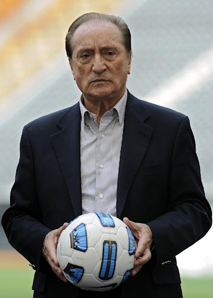 Eugenio Figueredo, current FIFA vice president and executive committee member, is on the list of people indicted in the US (AFP Photo/Juan Mabromata)