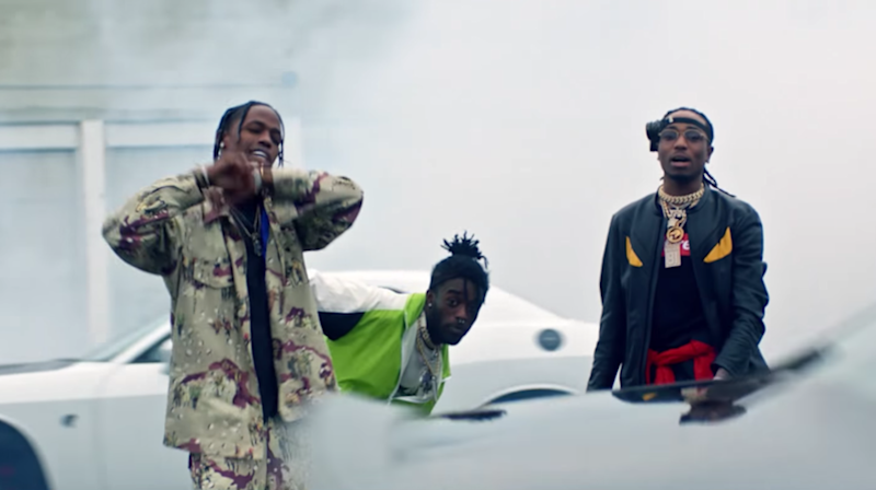See Lil Uzi Vert, Quavo, Travis Scott's Action-Packed 'Go Off' Video