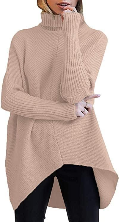 <p>You can style this <span>Turtleneck Long Sleeve Sweater</span> ($36) so many ways.</p>