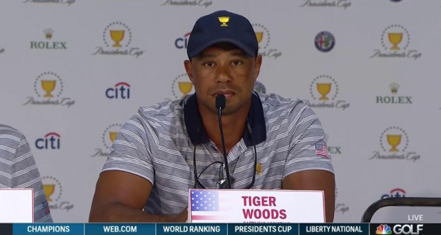 Tiger Woods (via screenshot)