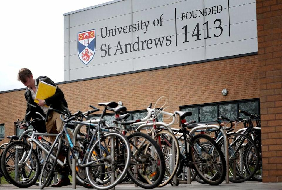 The University of St Andrews has topped The Times and The Sunday Times Good University Guide (Jane Barlow/PA) (PA Archive)