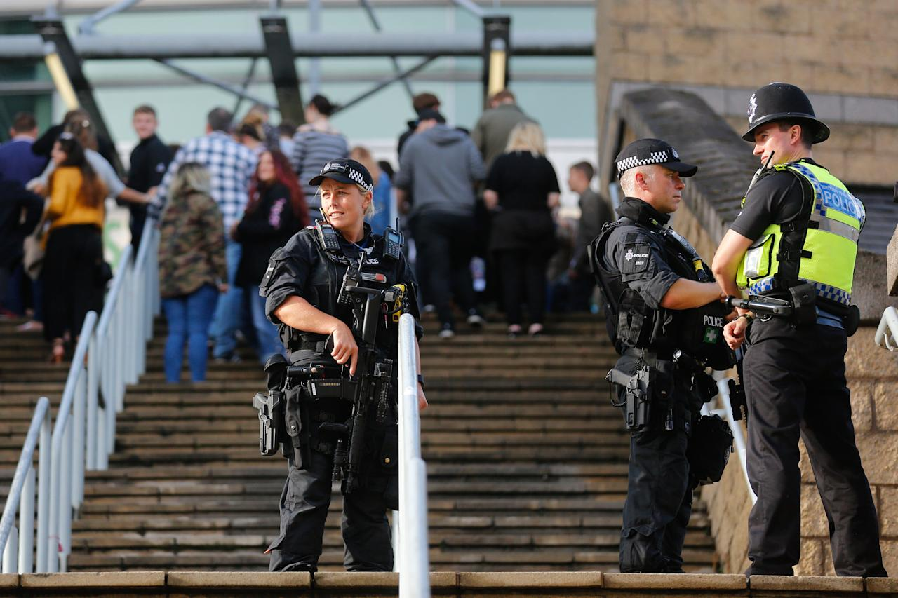 <p>Suicide bomber Salman Abedi detonated his device in the arena foyer killing 22 and injuring scores of others at the end of an Ariana Grande concert, on May 22 [Picture: SWNS] </p>